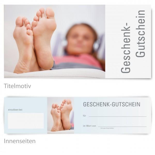 """Gutschein - Motiv """"Relax"""""""